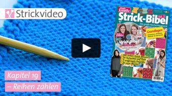 Strickvideo: Reihen zählen - Kapitel 19 (Strick-Bibel Vol. 2)