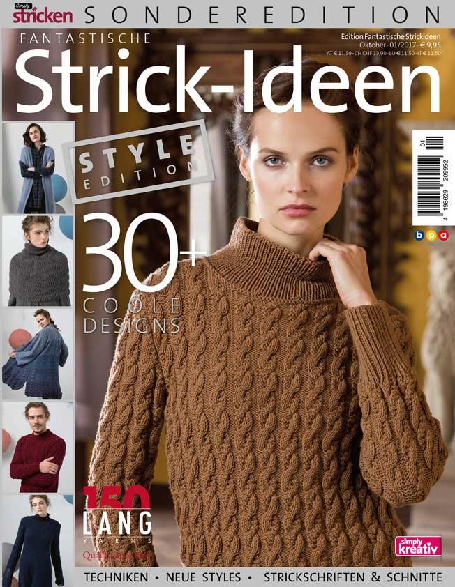 Style Edition Fantastische Strickideen 01/2017