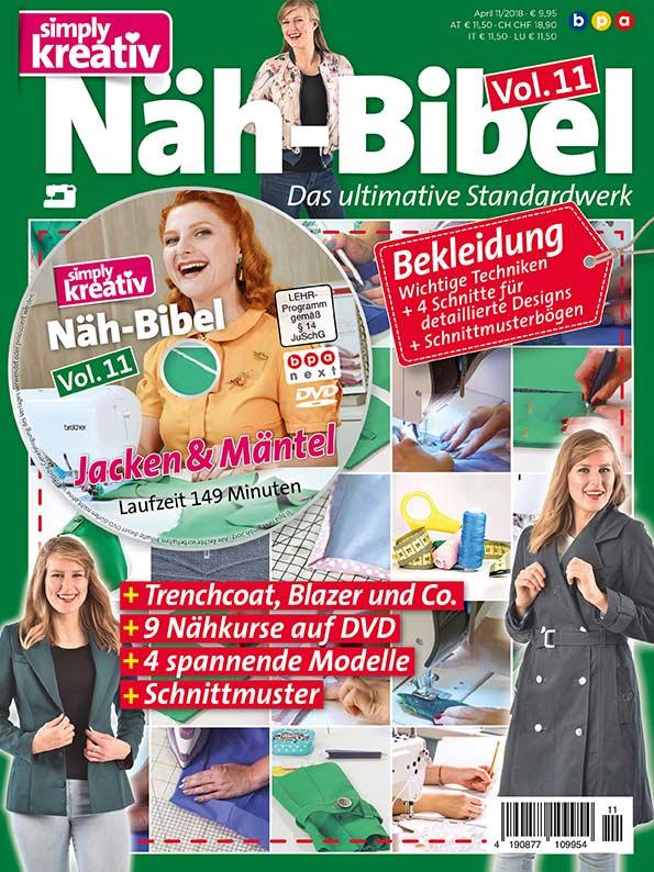 Simply Kreativ Näh-Bibel Vol. 11