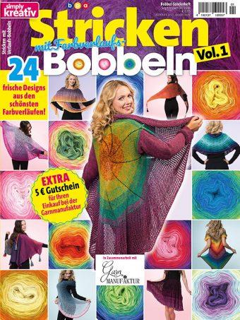 Simply Kreativ – Stricken mit Verlaufs-Bobbeln 01/2018