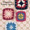 Häkelanleitung - Klassisches Granny Square - Mini Häkeln - Vol1 - Granny Squares - 0218