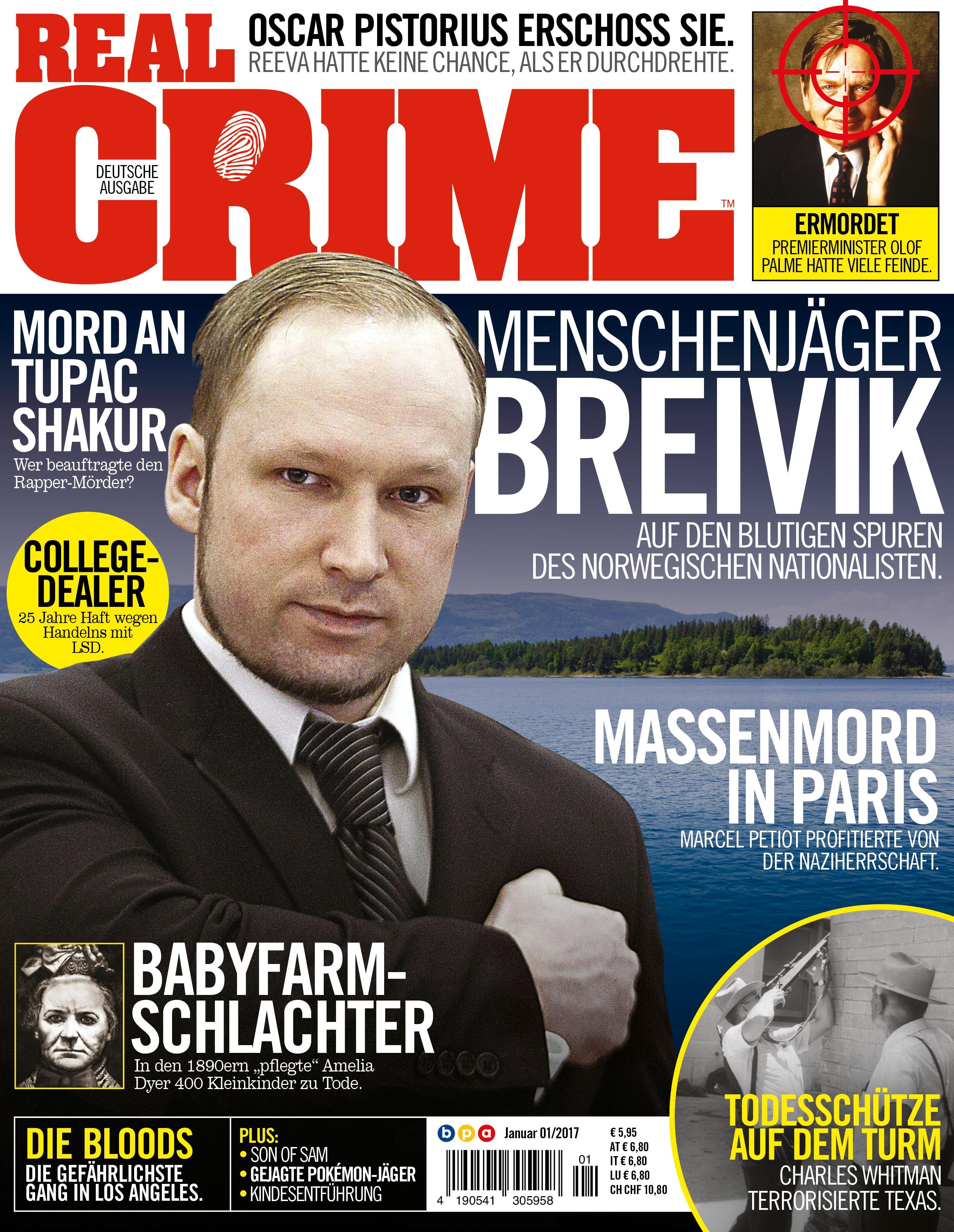 Real Crime Heft 01/2017