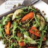 Gesund und fix - Kochen mit dem Thermomix - Warmer Linsensalat mit Karotten und Rosmarien 0218