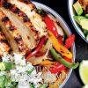 Gesund und fix - Kochen mit dem Thermomix - Cajun-Hähnchen mit Koriander-Limetten-Reis 0218