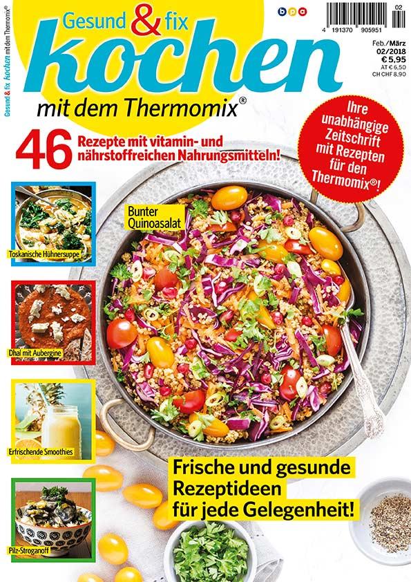 Gesund und fix - Kochen mit dem Thermomix 0218