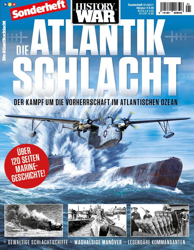 History of War Sonderheft Die Atlantik-Schlachten 01/17