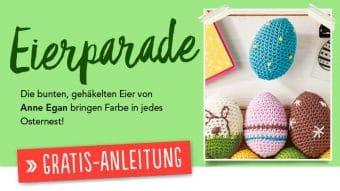 Gratis Häkelanleitung Eierparade