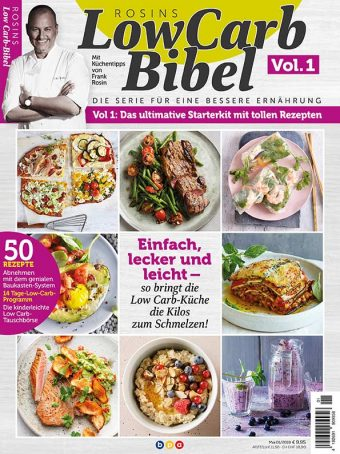 Rosins Low Carb Bibel Vol. 1