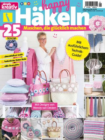 Simply Kreativ Happy Häkeln 01/2018