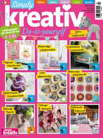 Simply Kreativ Heft 02/2019