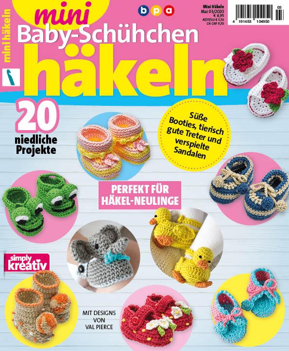 Mini Häkeln – Baby-Schühchen 03/2020