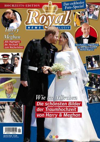 Royal News Exklusiv Hochzeits-Edition 01/2018