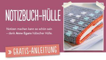 Gratis Häkelanleitung - Notebook Hülle