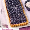 Rezept - Brombeer-Lavendel-Tarte - Simply Backen mit dem Thermomix® 04/2018