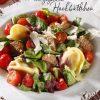 Rezept - Teigtaschen mit gegrillten Hackbällchen - Simply Kreativ - Salate mit dem Thermomix® - 0418