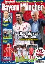 Fussballmagazin Bayern München 04/2018