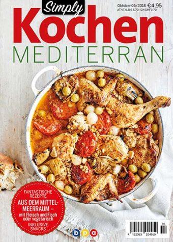 Simply Kochen Mediterran 05/2018