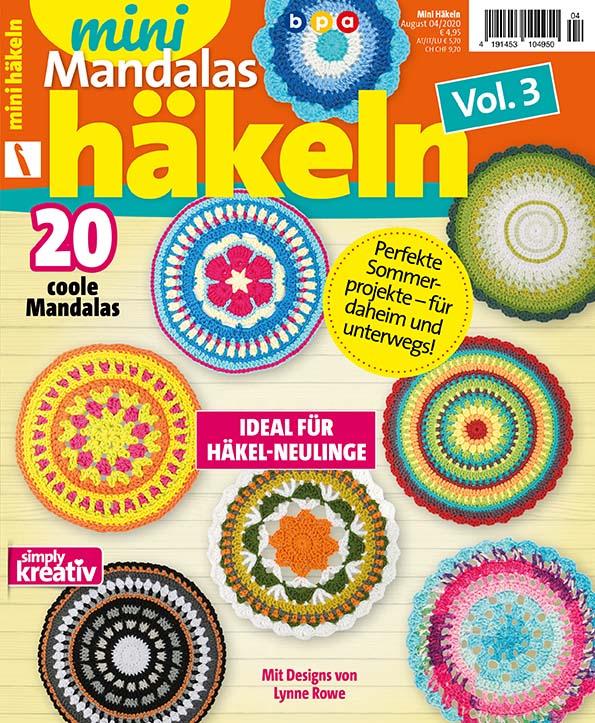 Mini Häkeln Vol. 3 – Mini Mandalas Häkeln 04/2020