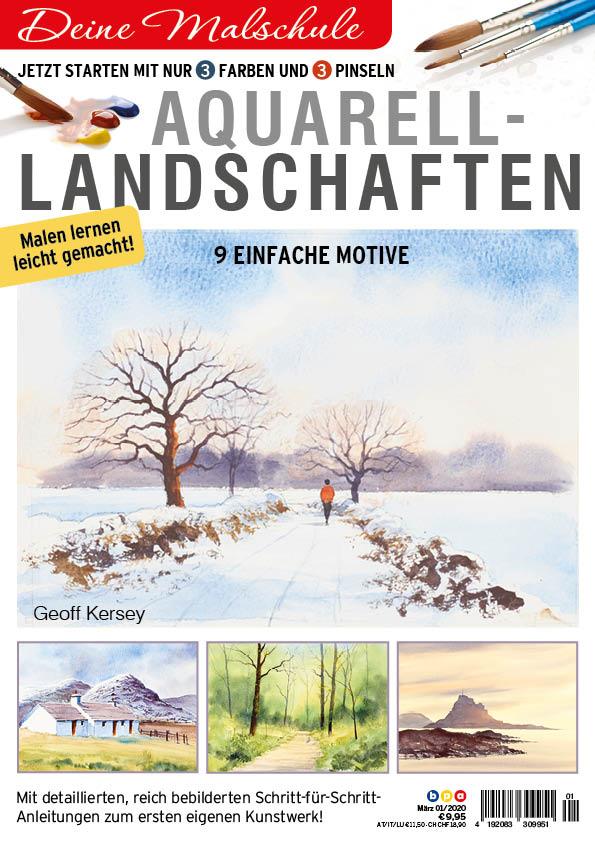 Deine Malschule: Aquarell-Landschaften 01/2020