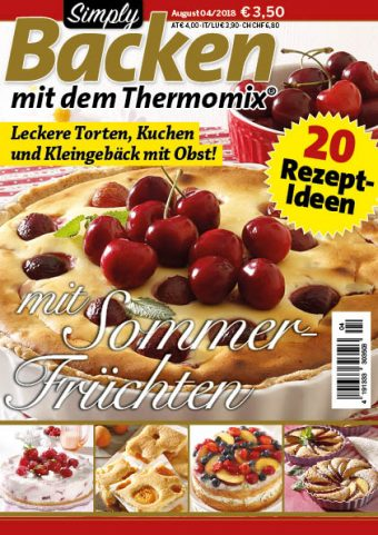 Simply Backen mit dem Thermomix® 04/2018