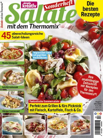 Simply Kreativ – Salate mit dem Thermomix® 04/18