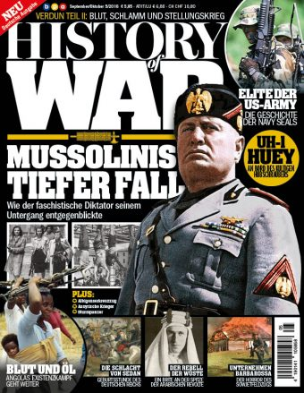 History of War Heft 05/2016