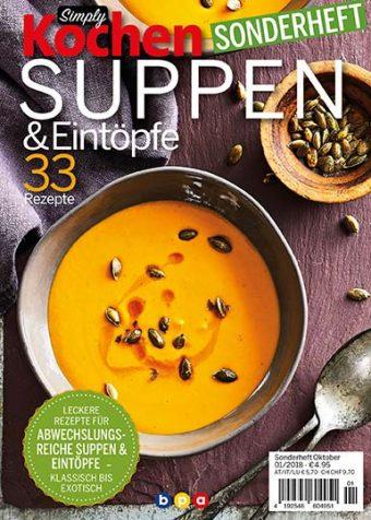 Simply Kochen Suppen & Eintöpfe 01/2018