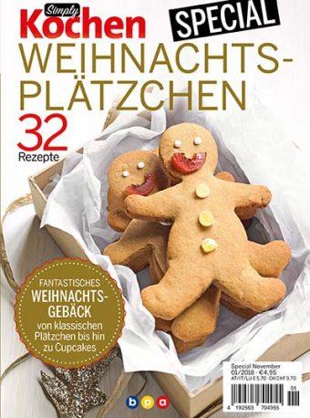 Simply Kochen Special Weichnachtsgebäck 01/2018