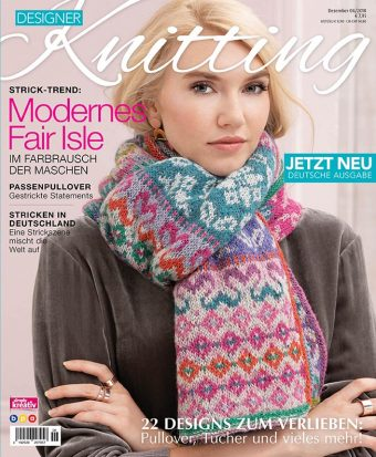 Designer Knitting 06/2018