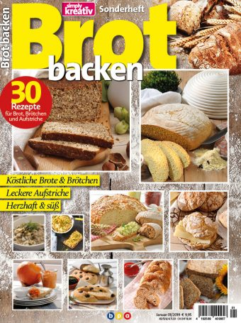 Simply Kreativ - Brot backen - Sonderheft - 01/2019