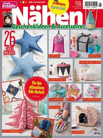 Simply Kreativ Geschenkideen + Accessoires Näh-Sonderheft 01/2018