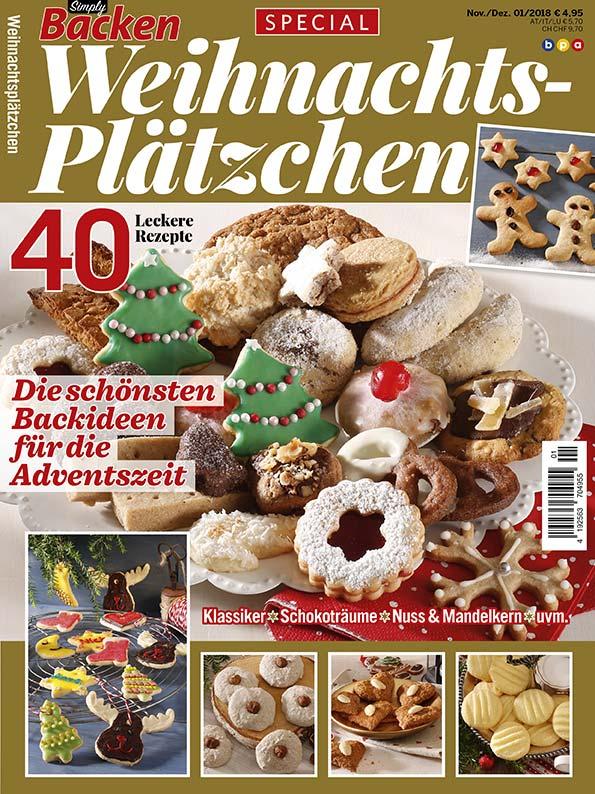 Weihnachtsplätzchen Schweiz.Simply Backen Special Weihnachtsplätzchen 01 2018