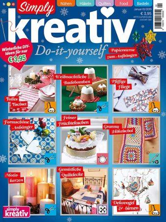 Simply Kreativ Heft 01/2019