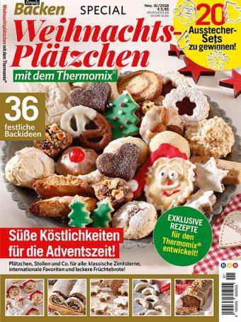 Simply Backen Special Weihnachtsplätzchen mit dem Thermomix® 01/2018