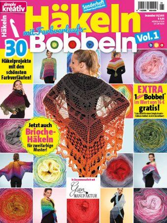 Simply Kreativ Häkeln mit Farbverlaufs-Bobbeln Vol. 1 Heft 01/2019