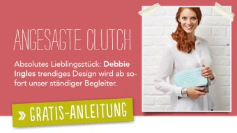 Blog - Gratisanleitung - Angesagte-Clutch