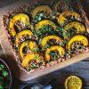 Rezept - Maronen-Kürbis-Tarte - Healthy Vegan 01/2019