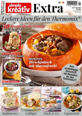 Simply Kreativ Extra – Leckere Ideen für den Thermomix® 01/19