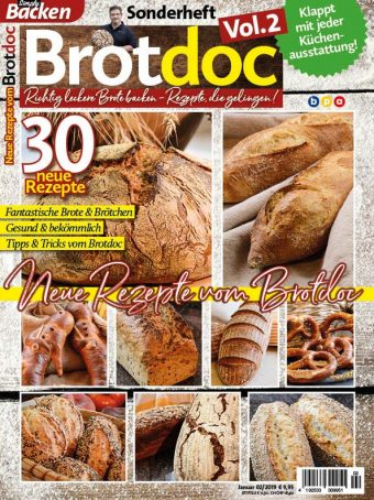Simply Backen Sonderheft Brotdoc Vol. 2 - Heft 02/2019