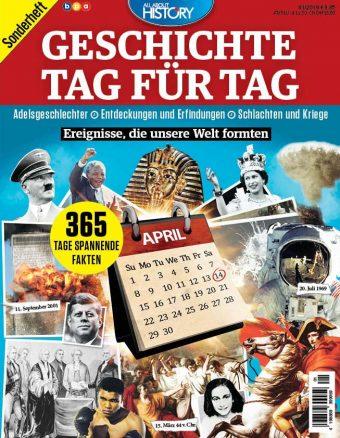 All About History Sonderheft: Geschichte Tag für Tag 01/2019
