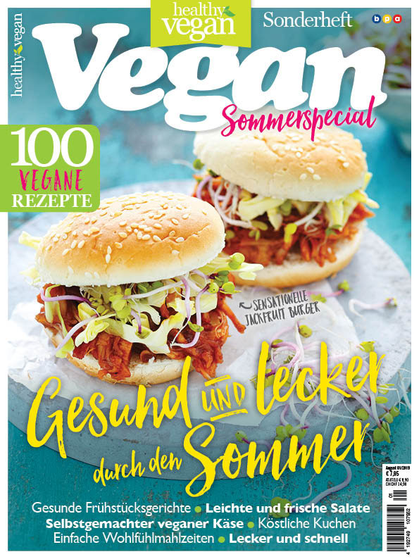 Healthy Vegan Sonderheft - Sommerspecial