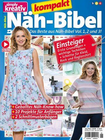 Simply Kreativ Näh-Bibel kompakt 01/2019
