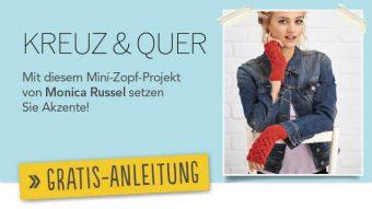 Gratis Strickanleitung - Kreuz & Quer