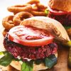 Rezept - Rote-Beete-Burger - Healthy Vegan 02/2019