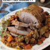 Rezept - Schmorbraten auf einem Gemüsebett - Simply Kochen Sonderheft Paleo-Diät 01/2019