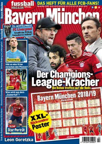 Fussballmagazin Bayern München 02/2019