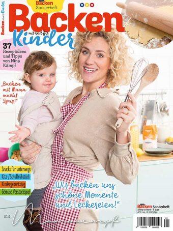 Simply Backen Sonderheft - Backen mit und für Kinder - mit Nina Kämpf von Mamaaempf