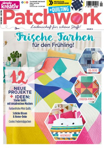 Simply Kreativ Patchwork + Quilting 02/2019