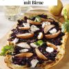 Rezept - Rotkohl-Flammkuchen mit Birne - Simply Kreativ Extra – Leckere Ideen für den Thermomix® 02/2019