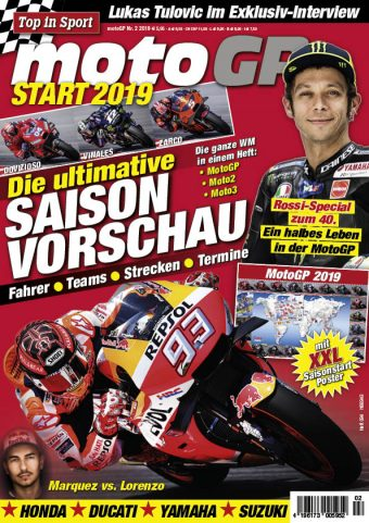 Top in Sport – MotoGP Start 2019 Heft 02/2019
